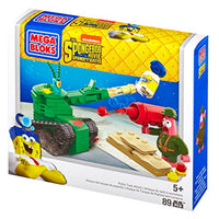 Mega Bloks SpongeBob Pickle Tank Attack Building Set