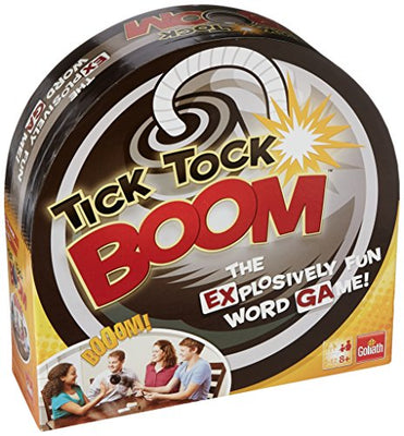 Goliath Games Tick Tock Boom Word Game, Black 70521