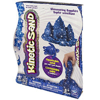 Kinetic Sand, 1Lb Shimmering Blue Sapphire Magic Sand for Ages 3 & Up