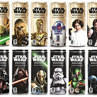 Star Wars Space Punch Sparkling Vitamin Drink, Collectors Edition Variety Pack 12oz Cans (12 Pack)