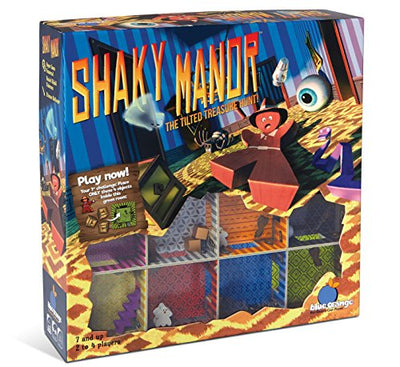 Blue Orange Games 05600 Shaky Manor Family Game