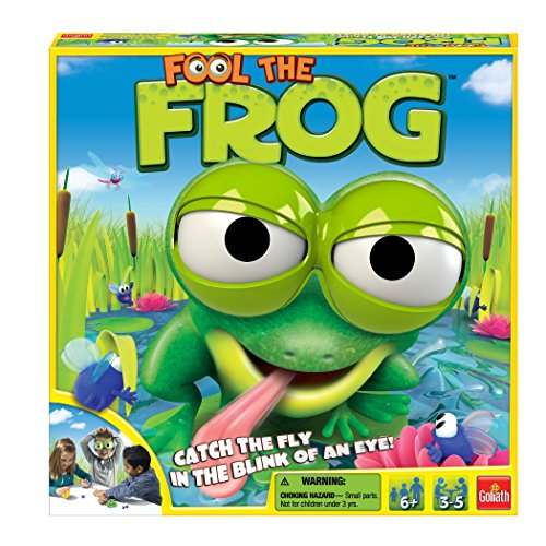 Fool The Frog Put on The Frog Goggles & Try to Catch The Fly Board Game