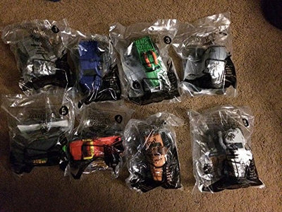 2015 Mcdonald's Happy Meal Toys Monster Jam All 8