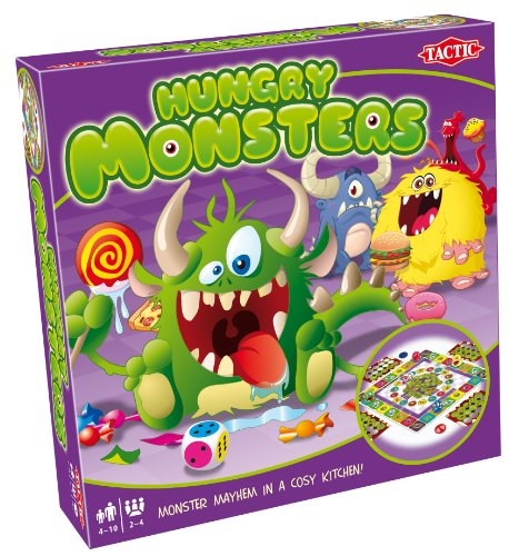 Tactic Games US Hungry Monsters Board Game