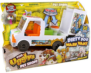 The Ugglys Pet Shop Dirty Dog Wash Van