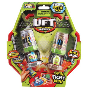 The Trash Pack Ultimate Fighting Trashies - Battle Arena And 2 Spin Bins