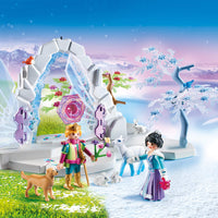 PLAYMOBIL Crystal Gate to The Winter World