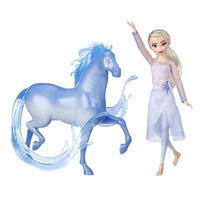 Disney Frozen Elsa Fashion Doll & Nokk Figure Inspired by Frozen 2