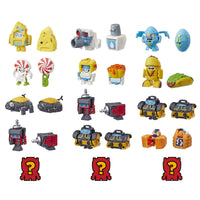 Transformers Toys Botbots Series 2 Shed Heads 5 Pack - Mystery 2-in-1 Collectible Figures! Kids Ages 5 & Up (Styles & Colors May Vary) by Hasbro