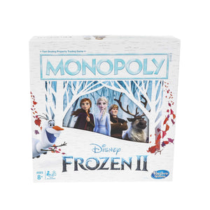 Monopoly Game: Disney Frozen 2 Edition Board Game for Ages 8 & Up