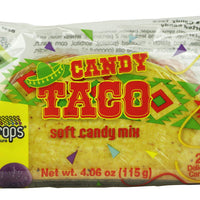 Raindrops Gummy Candy Taco with 23 Gummy Candies in a Taco Shell