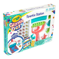 Crayola Glitter Dots Sparkle Station Craft Kit, Gift for Kids Age 6+