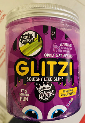 Compound Kings Toy Slime GLITZI