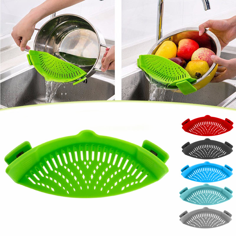 Universal Clip On Cooking Strainer