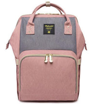 Load image into Gallery viewer, Diaper Bag in Cute Backpack Style + Choice Colors