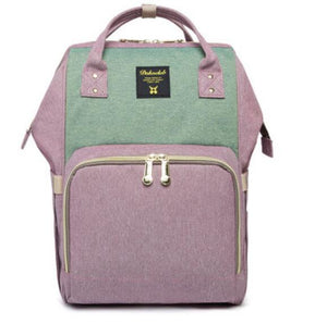 Diaper Bag in Cute Backpack Style + Choice Colors