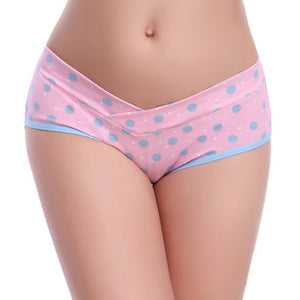 Patterned Cotton Nursing Bra + Matching Panties