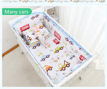 Load image into Gallery viewer, Crib Bedding Sets 100% Cotton