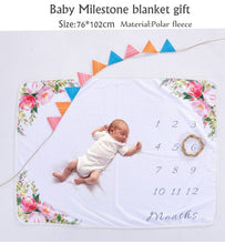 Load image into Gallery viewer, Milestone Baby Blanket
