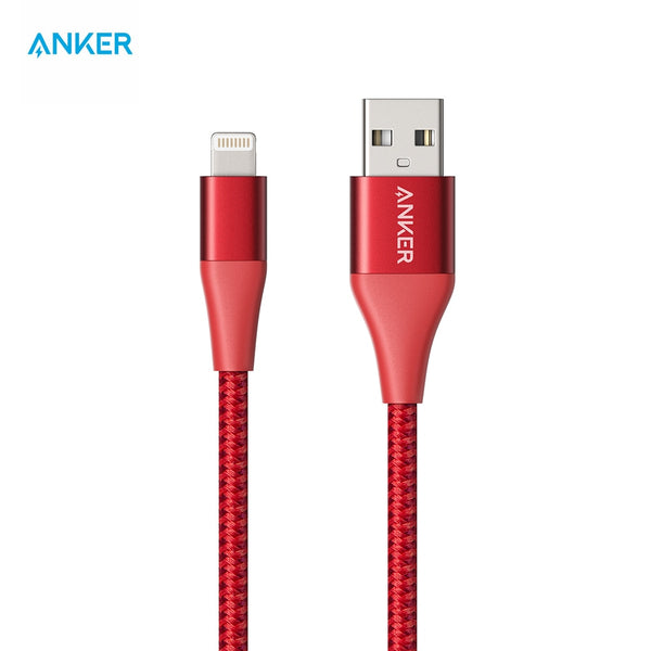 Anker PowerLine+ II Lightning Cable MFi Certified Compatibility with iPhone 11/11 Pro X/8/8 Plus/7/7 Plus/6/6 Plus/5/5s and More