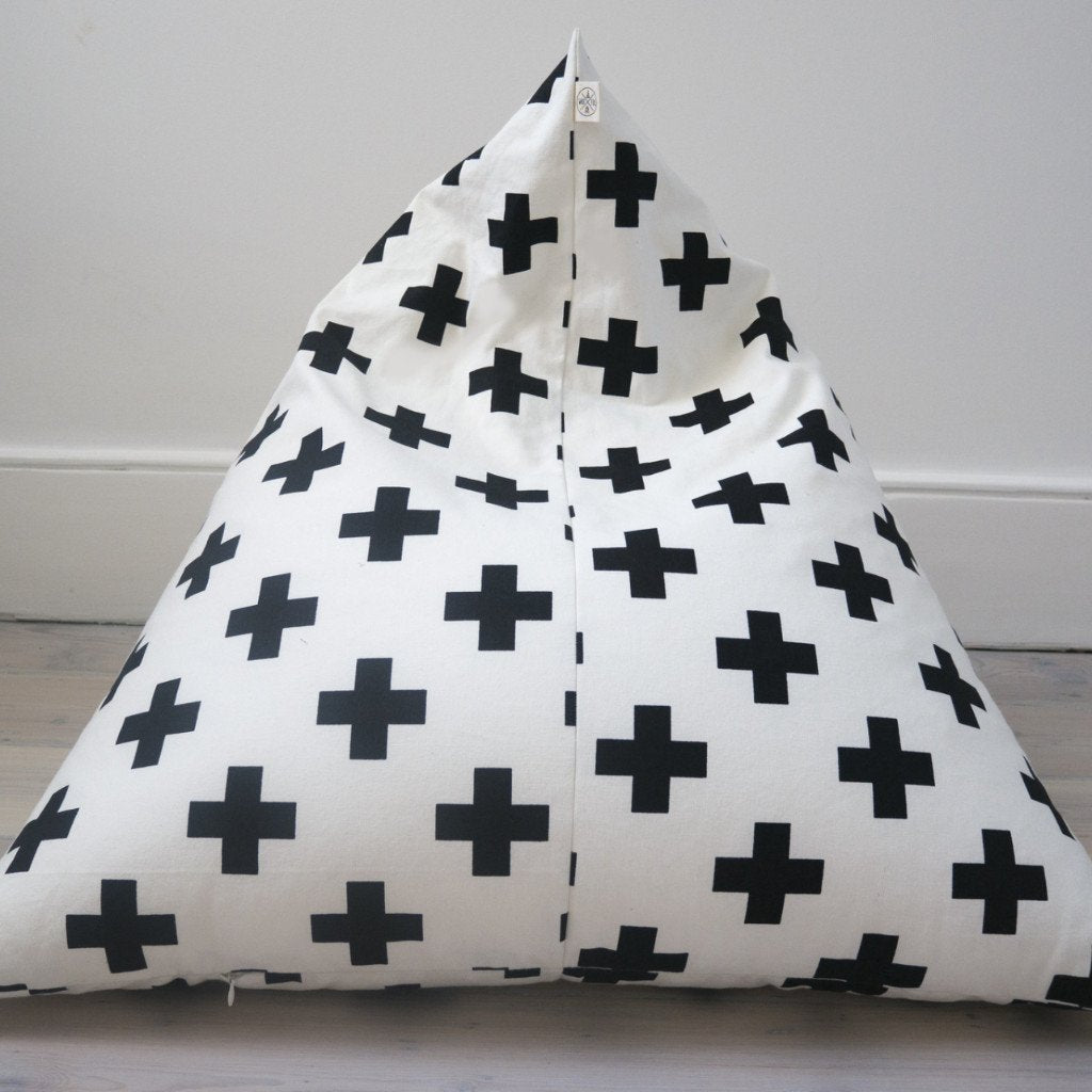 Cross Pyramid Bean Bag
