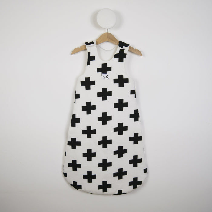 Sleeping bag in White Cross print