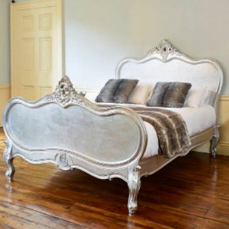 Rococo Style Four Poster Bed 019.5 $100 - $400 EXPORT ONLY