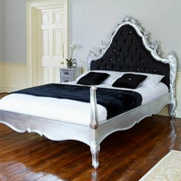 Rococo Style Four Poster Bed 015 $100 - $400 EXPORT ONLY