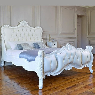 Rococo Style Four Poster Bed 025 $100 - $400 EXPORT ONLY