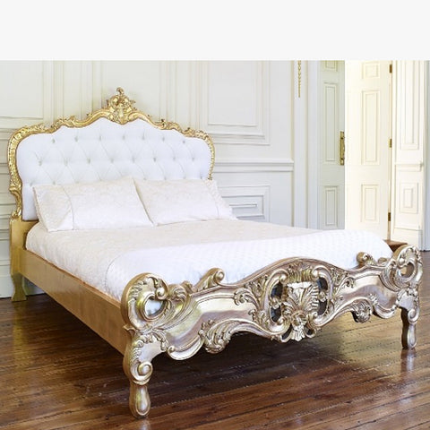 Rococo Style Four Poster Bed 005 $100 - $400 EXPORT ONLY