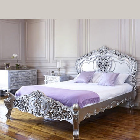 Rococo Style Four Poster Bed 006 $100 - $400 EXPORT ONLY