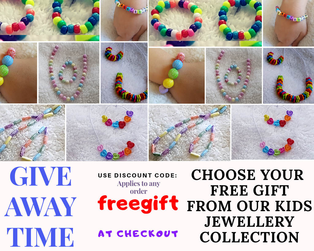 Choose your FREE kids Jewellery