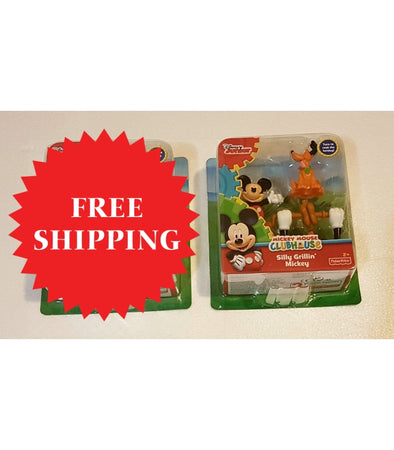 1 x Mickey Mouse Clubhouse - Silly Grillin Donald Toy Figure    - Elea Toys