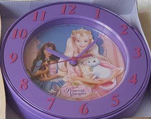 Barbie the Princess and the Pauper Wallclock