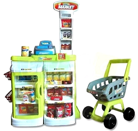 $30 ONLY! Multi-functional Supermarket Lime FULL SET - Elea Toys