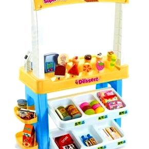 Pretend Play  Kids Children Dessert Store Shop Super FULL Play Set - Shopping
