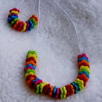Kids Necklace & Bracelet Colorful Set