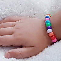 Kids Bracelet Colorful Beads for boys & girls
