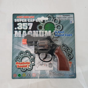 357 Magnum 8 Shot Round Toy Gun Free Shipping Au Pretend Play