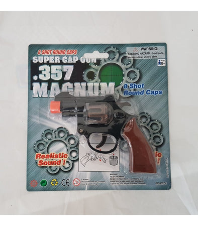 357 Magnum 8 Shot Round Toy Gun Pretend Play - Elea Toys