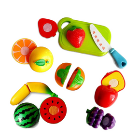 Kids Play - Realistic Kitchen - Food, Fruit & Vegetable Preparation Cooking Kit