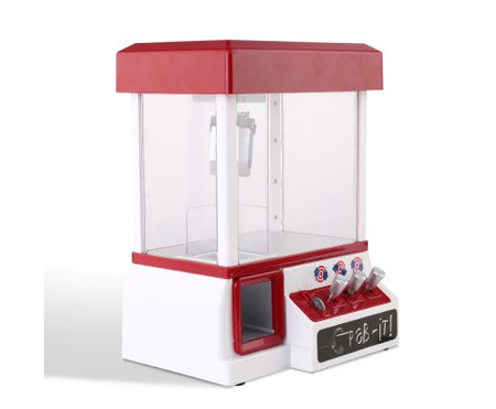 Keezi Kids Carnival Claw Machine - Red - Elea Toys