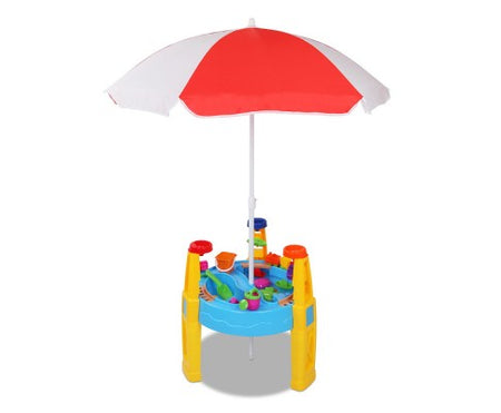 Keezi 26 Piece Kids Umbrella & Table Set - Elea Toys