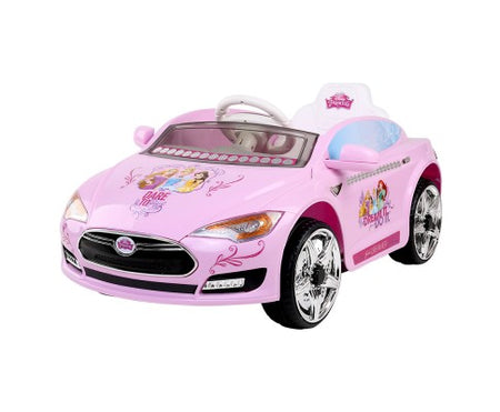 Disney Princess Ride On Car- Pink - Elea Toys