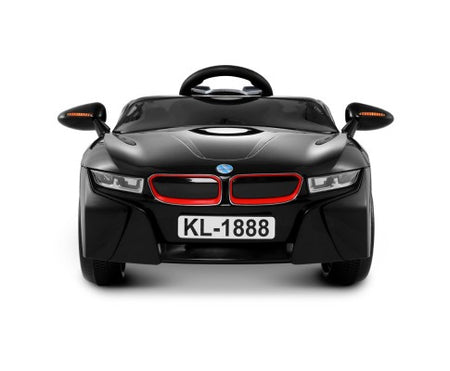 BMW i8 Style Electric Toy Car Rigo Kids Ride On Car - Black - Elea Toys