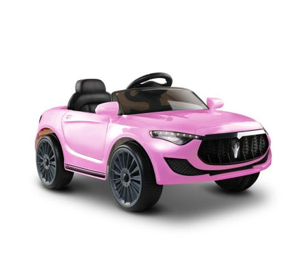 Rigo Maserati Kids Ride On Car - Pink - Elea Toys