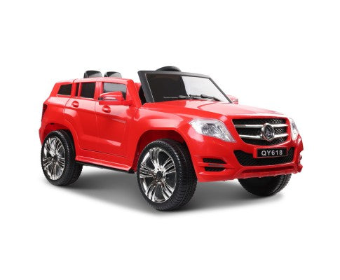 Rigo Kids start button Ride On Car - Mercedes Benz ML450 Electric Car Toy - Red - Elea Toys