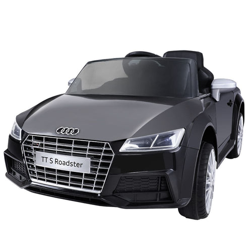 Audi Licensed Kids Ride On Cars Electric Car Children Toy Cars Battery Black - Elea Toys