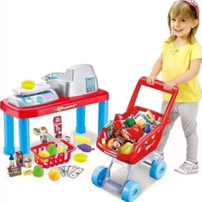 LUXURY Kids Children Pretend Play Supermarket Set with 17 accessories| Elea Toys
