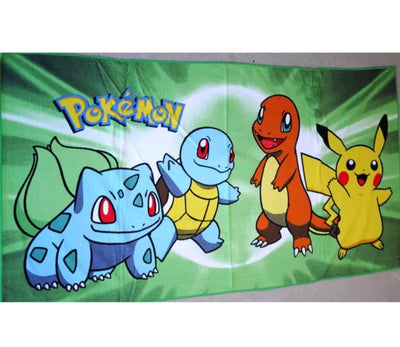Pokemon 100% Cotton Kids Bath Beach Towel